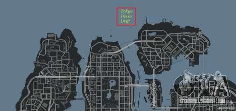 Tokyo Docks Drift para GTA 4 décima primeira imagem de tela