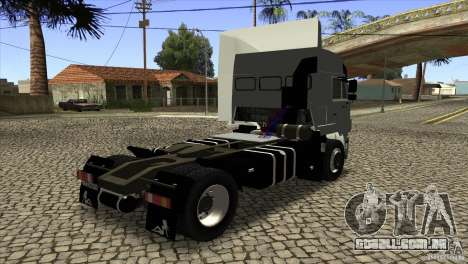 KAMAZ 5460 3420 Euro Turbo para GTA San Andreas vista direita
