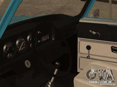 2140 AZLK v2 para GTA San Andreas vista traseira