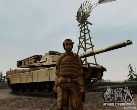 Tom Clancys Ghost Recon para GTA San Andreas