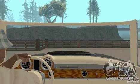Mercedes-Benz 280SL (Matt) para GTA San Andreas vista interior