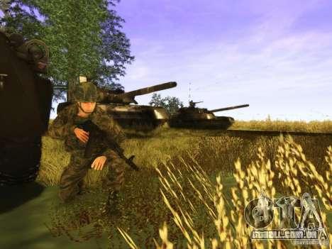 Uma pele de soldado russo para GTA San Andreas