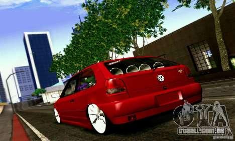 Volkswagen GOL G2 Tuning para GTA San Andreas esquerda vista