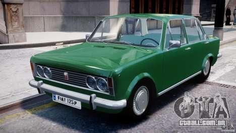Fiat 125p Polski 1970 para GTA 4 esquerda vista