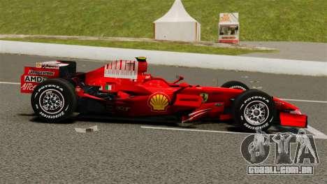 Ferrari F2008 para GTA 4