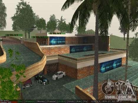 Villa Nova Med-Dogg para GTA San Andreas terceira tela