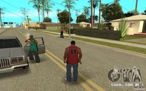 Grove Street Skin Pack para GTA San Andreas nono tela