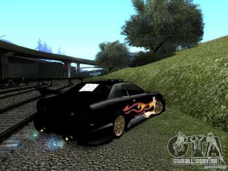 Vinil Rèjzora de Most Wanted para GTA San Andreas esquerda vista