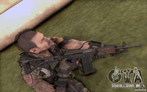 IMI GALIL AR para GTA San Andreas terceira tela