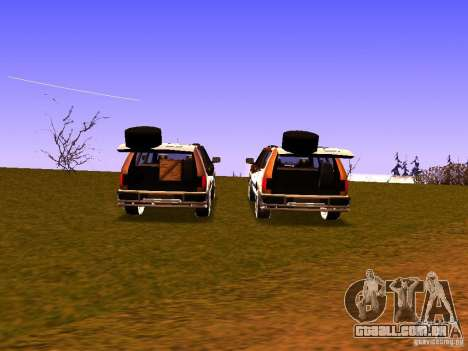 Mountainstalker S para vista lateral GTA San Andreas