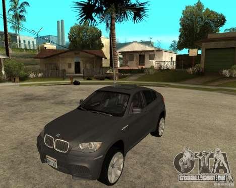 BMW X6 M para GTA San Andreas