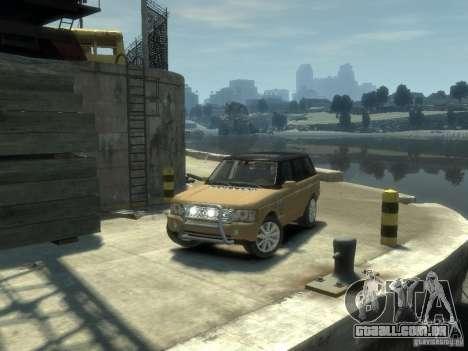 Range Rover Supercharged 2008 para GTA 4 vista de volta
