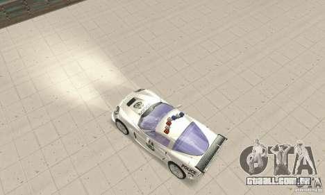Chevrolet Corvette C6 polícia Sargento Cruz NFSM para GTA San Andreas vista direita