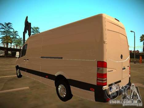 Mercedes Benz Sprinter 311 CDi para vista lateral GTA San Andreas