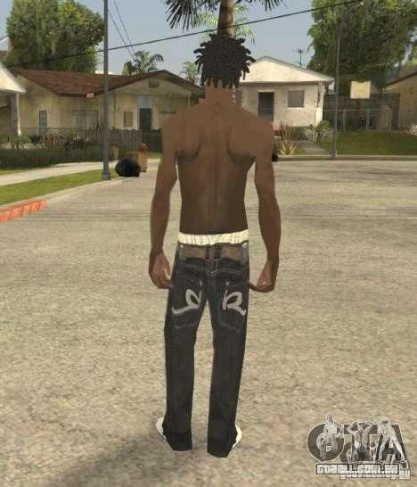 Afro-American Boy para GTA San Andreas terceira tela