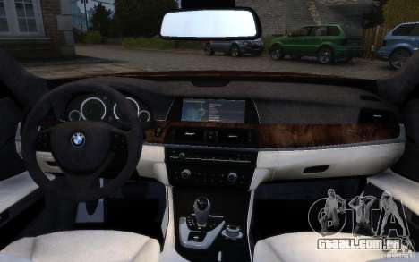 BMW 760Li 2011 para GTA 4 interior