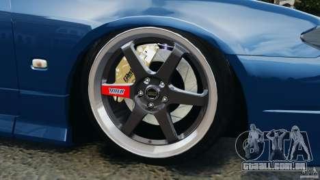 Nissan Silvia S15 JDM para GTA 4 vista inferior