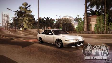 Nissan Silvia S14 Zenk para GTA San Andreas vista traseira