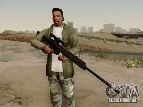 HK PSG 1 para GTA San Andreas segunda tela