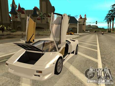 Lamborghini Diablo VT 1995 V2.0 para vista lateral GTA San Andreas