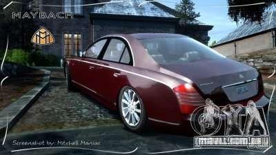 Maybach 57S para GTA 4 esquerda vista