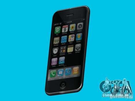 Iphone para GTA San Andreas segunda tela