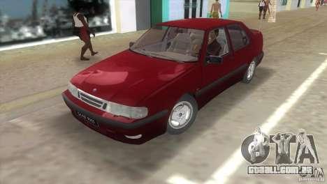 SAAB 9000 Anniversary v1.0 para GTA Vice City deixou vista