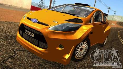 Ford Fiesta Rally para GTA San Andreas