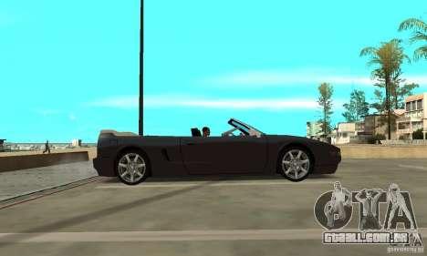 New InFernus para GTA San Andreas traseira esquerda vista