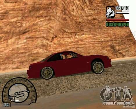 Nissan Silvia S14 DoRiftar para GTA San Andreas traseira esquerda vista