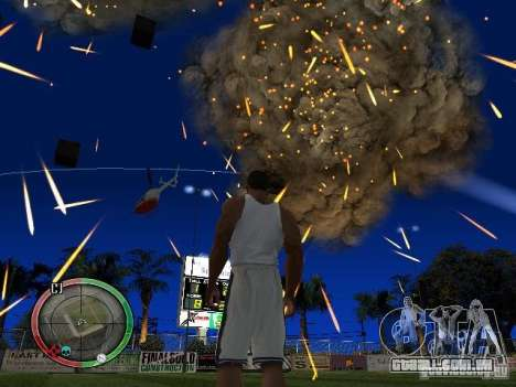 RAIN OF BOXES para GTA San Andreas terceira tela