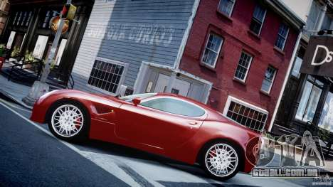 Alfa Romeo 8C Competizione para GTA 4 esquerda vista