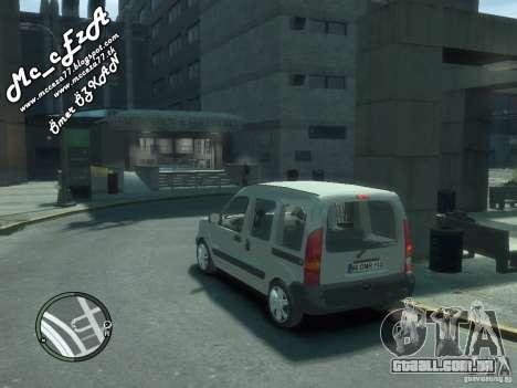Renault Kangoo 2007 para GTA 4 vista inferior