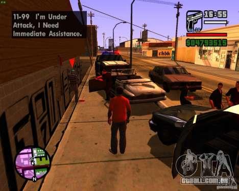 Perseguindo máquinas para GTA San Andreas terceira tela