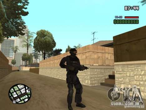 Comando do SWAT 4 para GTA San Andreas
