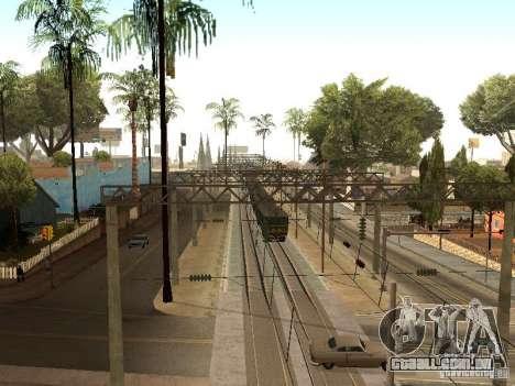 Entrar em contato com a rede 2 para GTA San Andreas sexta tela