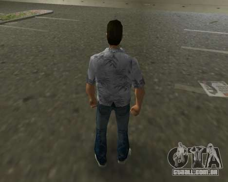 Camisa cinza para GTA Vice City terceira tela