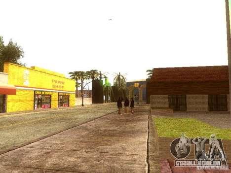 Novo Enb series 2011 para GTA San Andreas por diante tela
