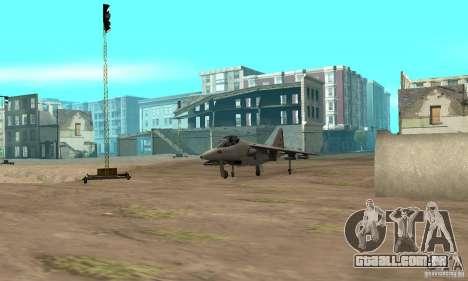 Guerra aérea para GTA San Andreas sétima tela
