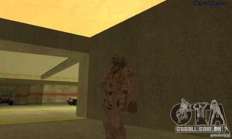 Pele Marine para GTA San Andreas segunda tela