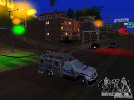 Ford F350 REP Truck para GTA San Andreas esquerda vista
