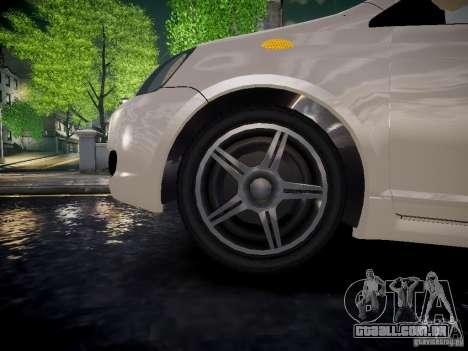 Toyota Vitz para GTA 4 vista direita