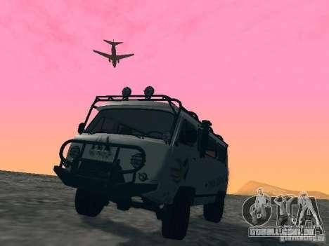 UAZ 2206 para as rodas de GTA San Andreas