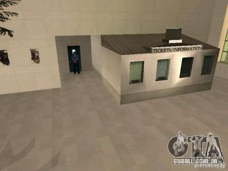 Espaço animado v 1.0 para GTA San Andreas nono tela