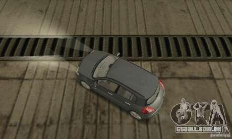 Renault Megane II 2005 para GTA San Andreas traseira esquerda vista