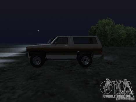 Fazendeiro de GTA 4 para GTA San Andreas esquerda vista