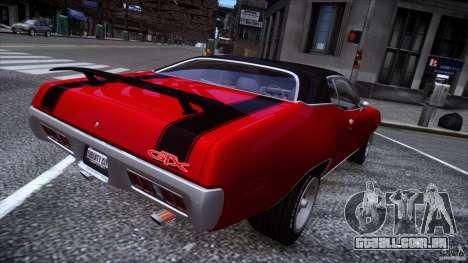 Plymouth GTX 426 HEMI [EPM] v.1.0 para GTA 4 traseira esquerda vista