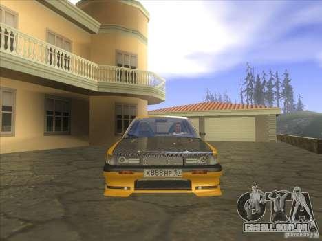 Mazda 626 DRIFT para GTA San Andreas vista traseira