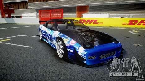 Nissan 240sx Toyo Kawabata para GTA 4 vista interior