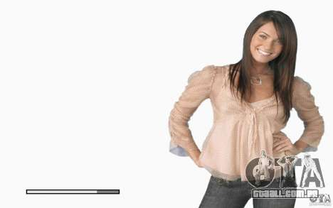 Megan Fox de telas de inicialização para GTA San Andreas sexta tela